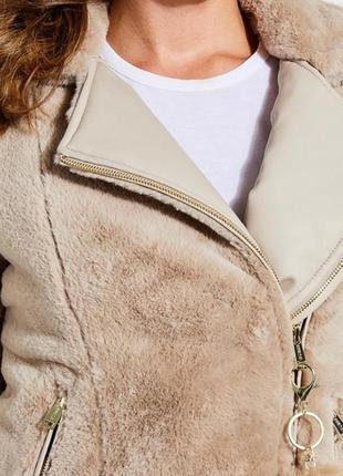 Двухсторонняя куртка-шубка guess6 фото