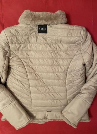 Двухсторонняя куртка-шубка guess8 фото