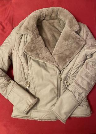 Двухсторонняя куртка-шубка guess10 фото