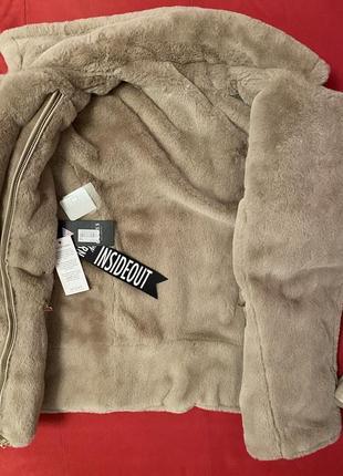 Двухсторонняя куртка-шубка guess9 фото