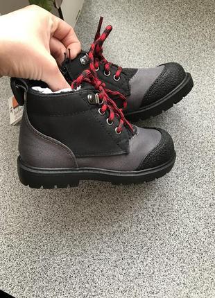 Черевики утеплені єврозима, ботинки на меху демисезонние термо