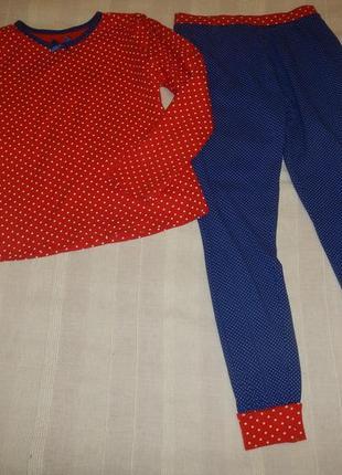 Пижама в горошек george р.135-140см