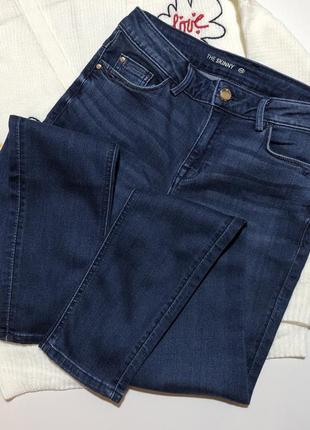 Новые джинсы скинни с высокой посадкой талией италия c&a h&m