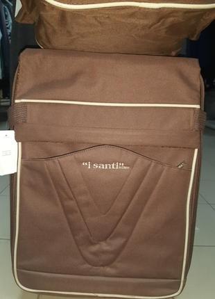 """Супервместительный чемодан от итальянского бренда """"i santi"""" milano ,"""