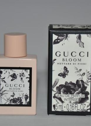 Gucci bloom nettare di fiori парфюмированная вода (мини 5мл)