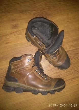 Чоловічі шкіряні черевики mida