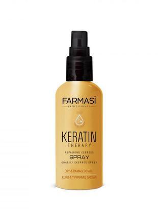 Новый спрей для волос с кератином от farmasi