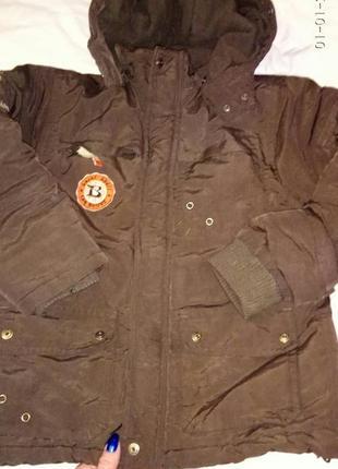 Дитяча тепла куртка 116-122