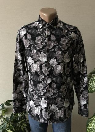 Рубашка в цветы