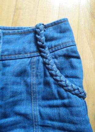 Джинсовая юбка оригинальная h&m