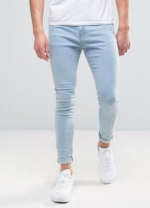 Деним крутые скинни слим джинсы дудочки по ноге
