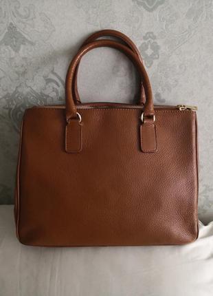 Роскошная большая деловая кожаная сумка varese от vera pelle👜👜👜💥🔥
