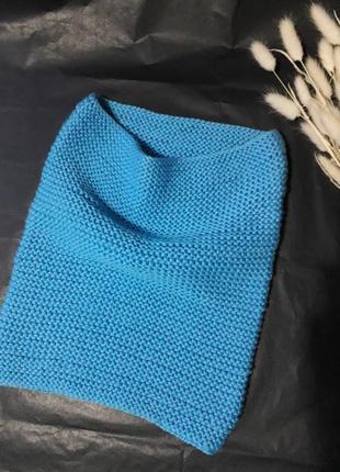 Снуд из 100% мериносовой шерсти. шарф