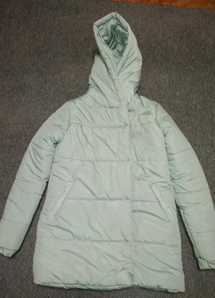 Зимняя куртка-зефирка