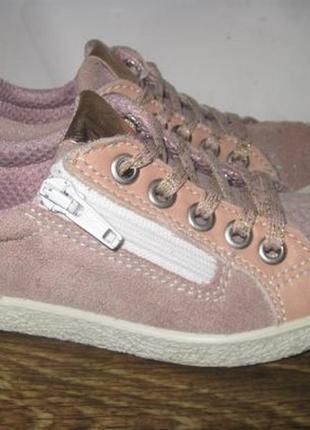 Замшевые ботинки twisty р.26