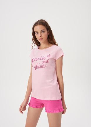 Нежная розовая пижама