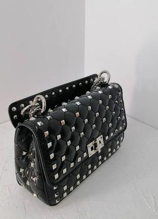 """Трендовая, вечерняя сумочка, в стиле """"valentino"""""""