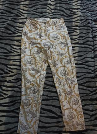 Білі штани джинси - банани triset