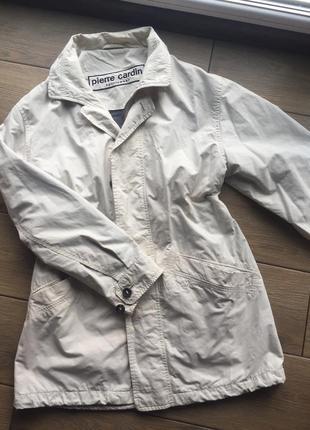 Pierre cardin курточка, ветровка, бренд, оверсайз, женская куртка