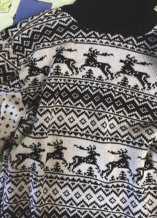 Теплое платьице-туника