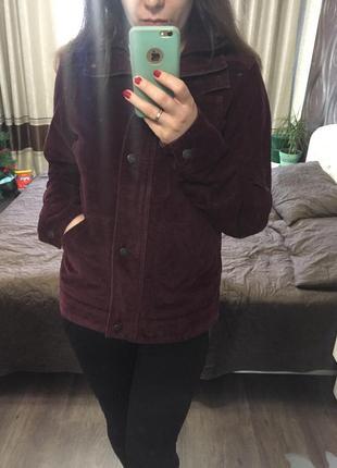 Куртка вельветовая, куртка женская с карманами