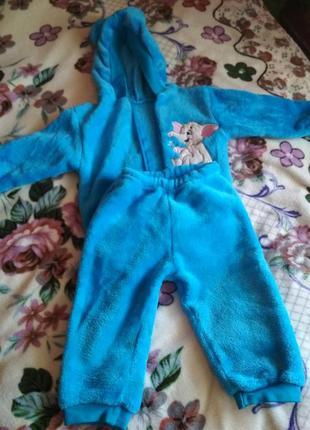 Тёплый костюм на малыша