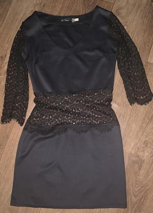 Платье гипюр рукава