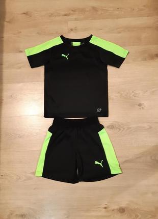 Спортивный футбольный костюм puma оригинал размер 7-8 лет