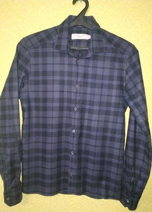 Pringle of scotland рубашка шерсть, клетчатая рубашка, стильная рубашка, бренд, оригинал