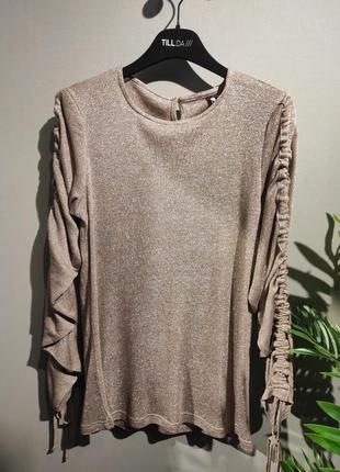 Блуза люрекс