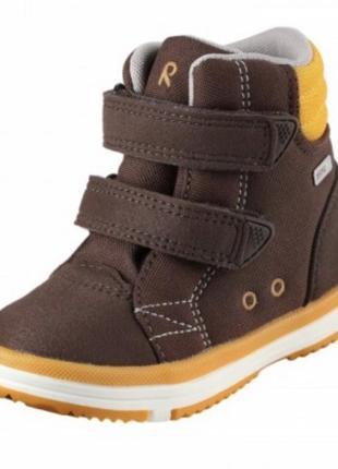 Крутые новые ботинки рейма reimatec patter непромокаемые деми еврозима 22