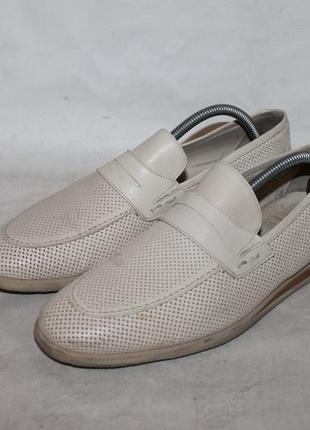 Комфортные кожаные туфли от carlo pazoloni 40 размер 100% натуральная кожа