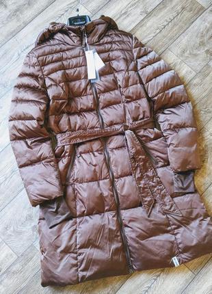 Удлиненная куртка, пальто. италия.два цвета