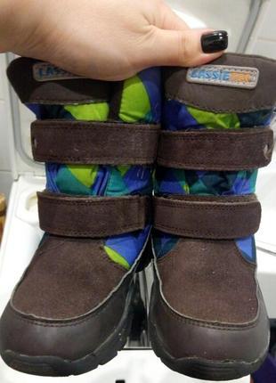 Водонепроницаемые ботинки lassietec reima
