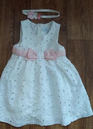 Роскошное платье mayoral, 1-1,5 года