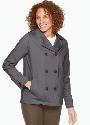 Серый пиджак / пальто / кардиган / жакет / тренч h&m