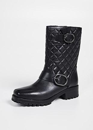 Новые кожаные ботинки michael michael kors rosario boots