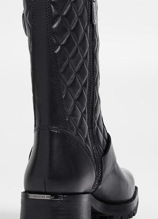 Новые кожаные ботинки michael michael kors rosario boots3 фото