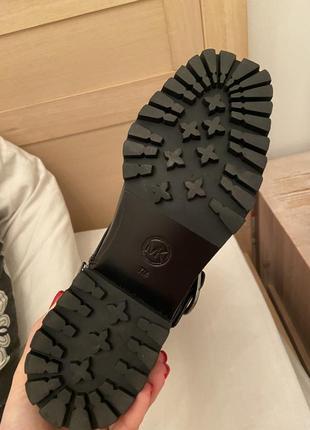 Новые кожаные ботинки michael michael kors rosario boots6 фото