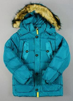 Зимняя куртка для мальчика 10-11 лет