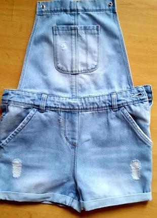 Легкий джинсовый комбинезон tu
