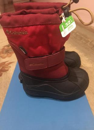 Ботинки детские зимние columbia