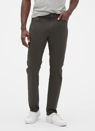 🌿1+1=3 шикарные плотные узкие зауженные мужские джинсы gap, размер 44 - 46