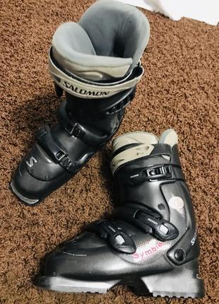 Лыжные ботинки solomon simbio
