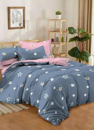 Хлопковое постельное белье гламур, полуторный, двуспальный и евро размеры