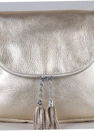 Оригинальная сумка-мессенджер из качественной натуральной кожи