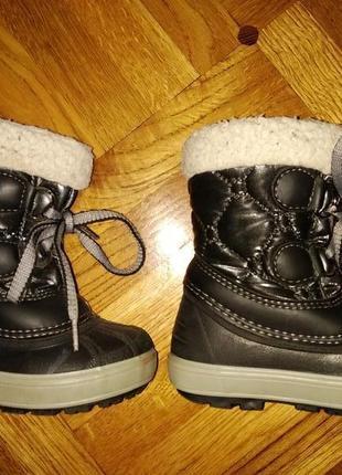 Зимние ботинки сапожки