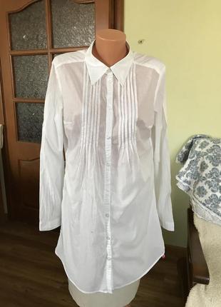 Длинная рубашка-туника