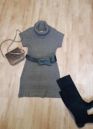 Вязаное платье calvin klein