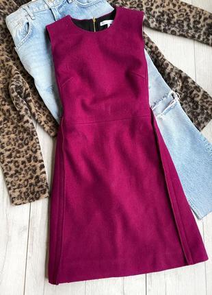 Victoria beckham шерстяное платье, сукня оригинал
